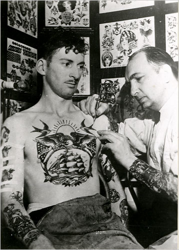 Sailors' tattoos also had magical associations.